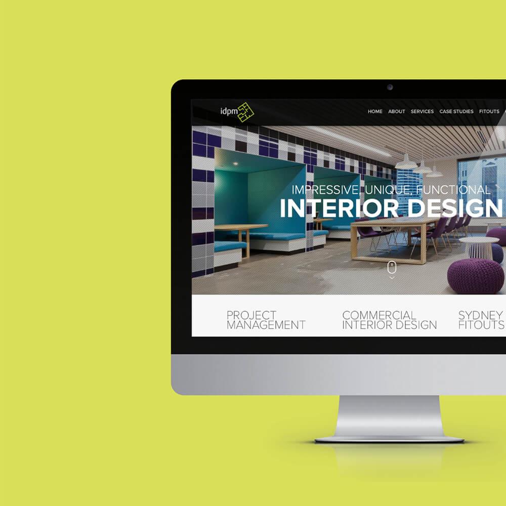 Interior Design Project Management Website