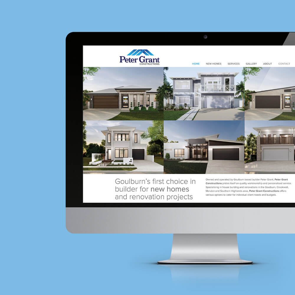 Peter Grant Constructions Website