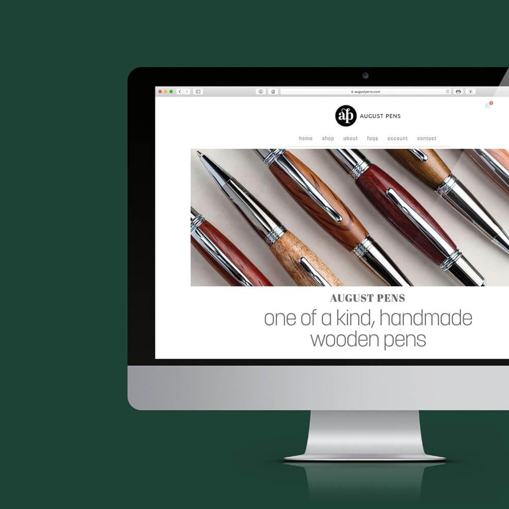 August Pens Website