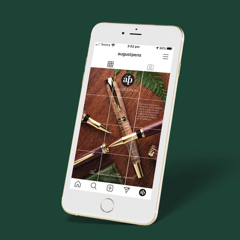 August Pens Instagram Launch