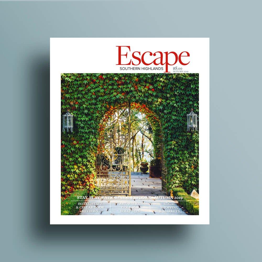 Autumn 2019 Escape Cover