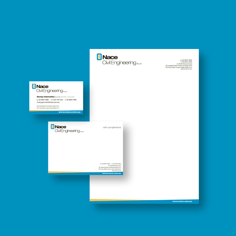 Nace Civil Engineering Stationery