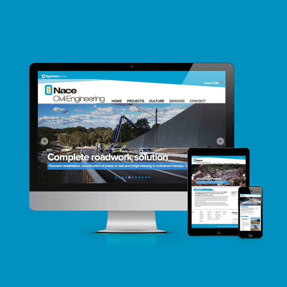 Nace Civil Engineering Website