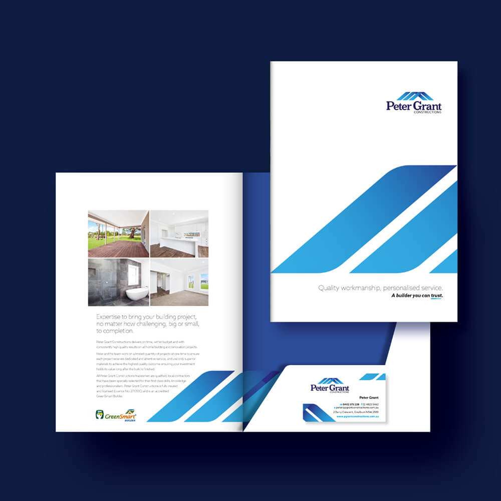 Peter Grant Constructions Folder