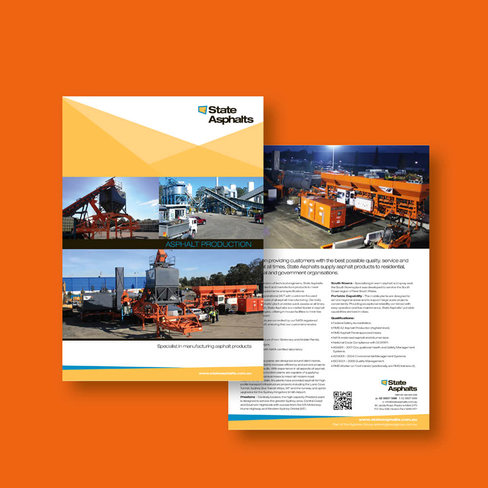 State Asphalts Brochure