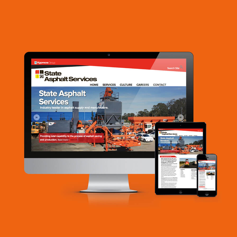 State Asphalt Services Website