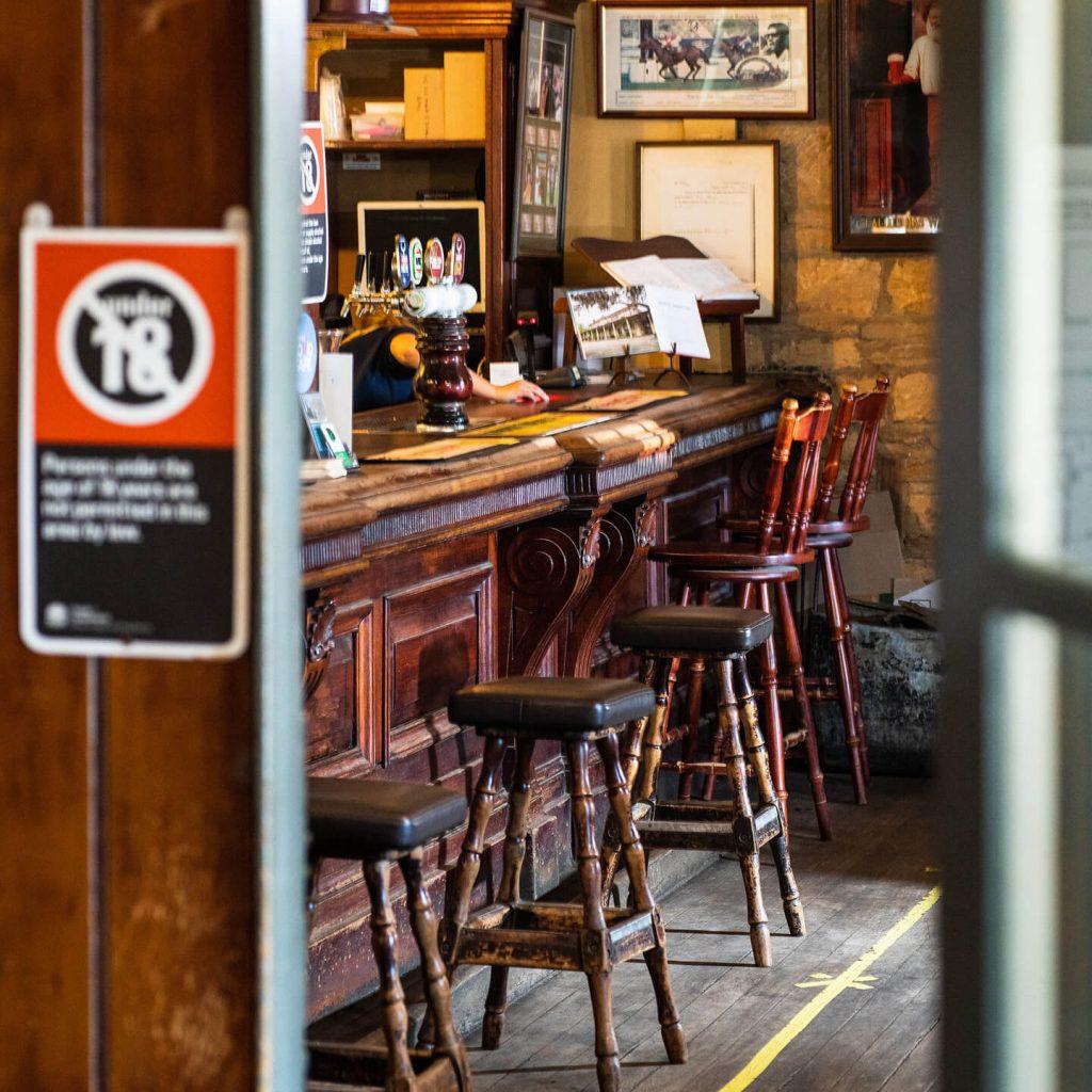 Bar at The Surveyor General Inn