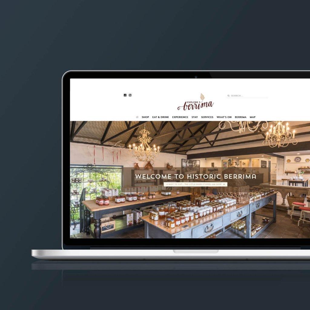 Explore Berrima website